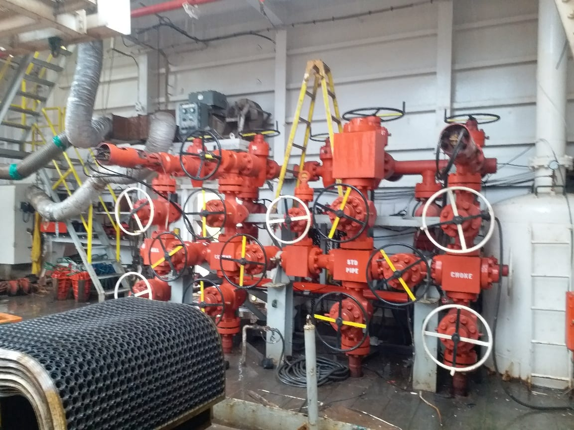 Shaffer Remote Drilling Choke | Used Drilling Choke for Oil
