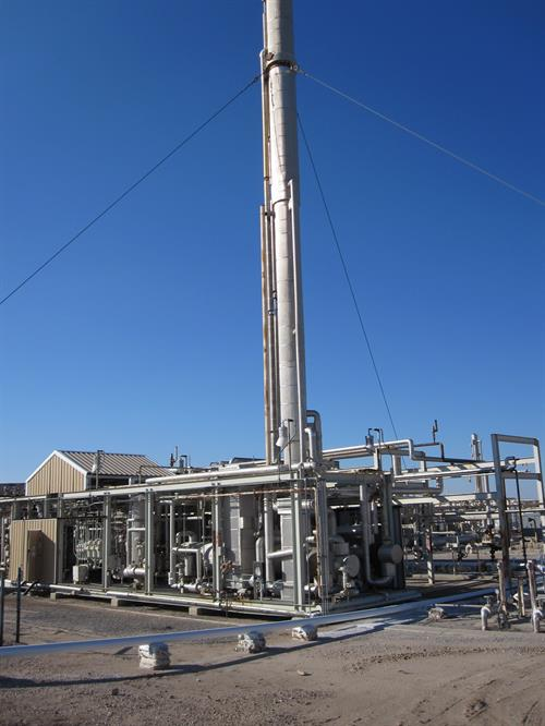 10 MMSCFD Cryogenic Gas Processing Plant Complete System-plant_A