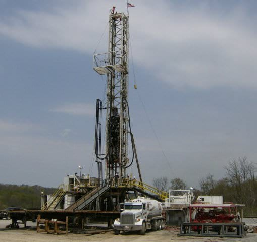 1100HP Double Mast Land Rig TOI 480