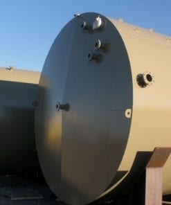 210 BBL steel production tank