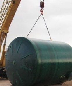 210 BBL fiberglass production tank