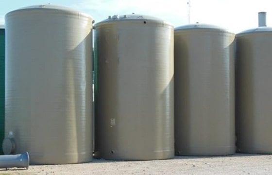 400 BBL Fiberglass Production Tank