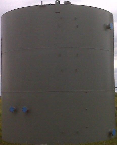 500 BBL Low Profile Steel Production Tank