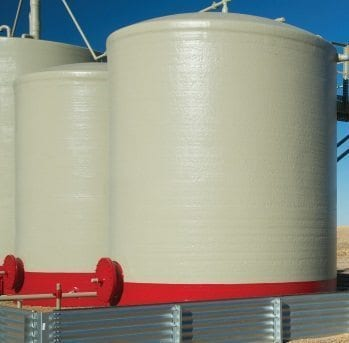 500 BBL High Profile Fiberglass Production Tank