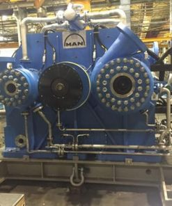 CO2 Compressor Packages 14000 HP MAN Centrifugal Compressors WEG Motors-11790