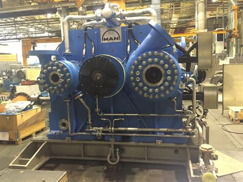 CO2 Compressor Packages 14000 HP MAN Centrifugal Compressors WEG Motors-11790