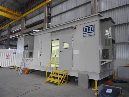 CO2 Compressor Packages 14000 HP MAN Centrifugal Compressors WEG Motors-DSCN1809