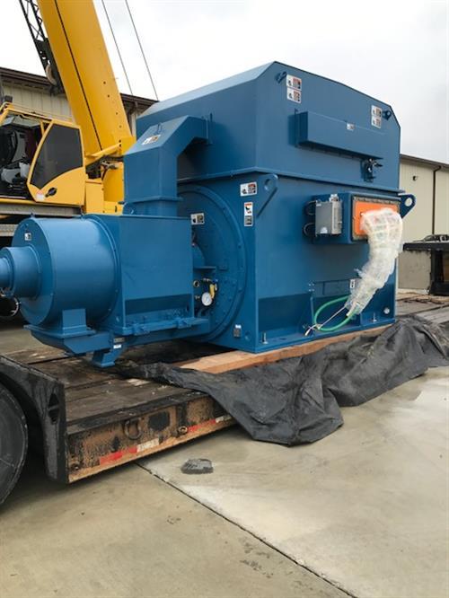 CO2 Compressor Packages 14000 HP MAN Centrifugal Compressors WEG Motors-IMG_0551