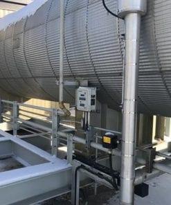 Hot Oil Heat Medium Package 4.0 MMBTUHR 1172 kW Used-IMG_4683