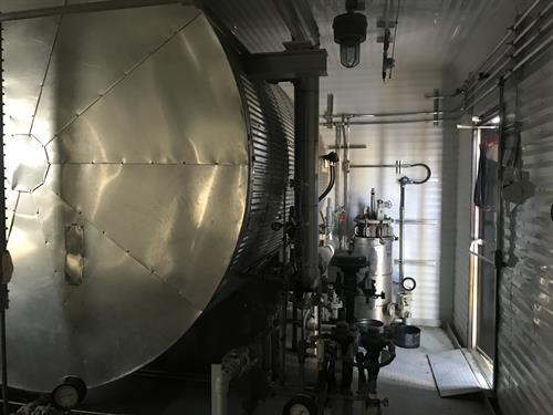 Hot Oil Heat Medium Package 4.0 MMBTUHR 1172 kW Used-IMG_4689