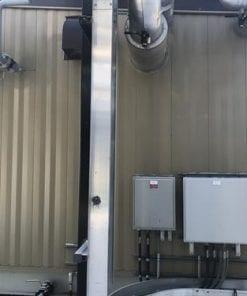 Hot Oil Heat Medium Package 4.0 MMBTUHR 1172 kW Used-IMG_4692