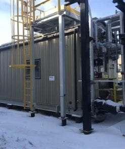 Inlet Separator Package 7.18 MMscfd 3-Phase 35 O.D. x 180 SS Used-IMG_4638