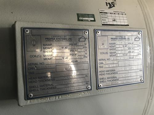 Inlet Separator Package 7.18 MMscfd 3-Phase 35 O.D. x 180 SS Used-IMG_4646