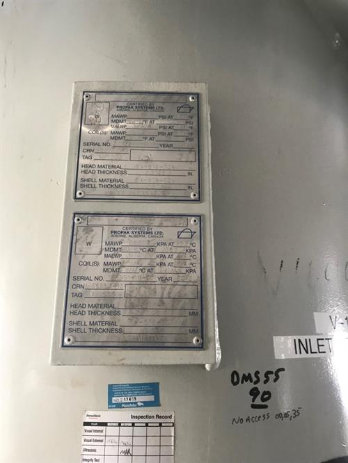 Inlet Separator Package 7.18 MMscfd 3-Phase 35 O.D. x 180 SS Used-Picture29