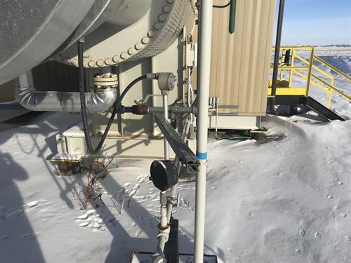 Mono-Ethylene Glycol (MEG) Utility Heat Medium Package 1.5 MMBTUHR 439.5 kW Used-IMG_4697