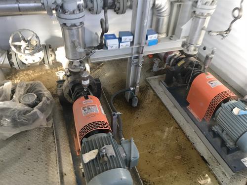 Mono-Ethylene Glycol (MEG) Utility Heat Medium Package 1.5 MMBTUHR 439.5 kW Used-IMG_4702