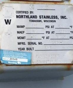 NGL Bullet Tanks 1430 Bbl Used-10146.1