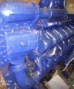 MTU 12V 4000 Marine Generator Used Engine