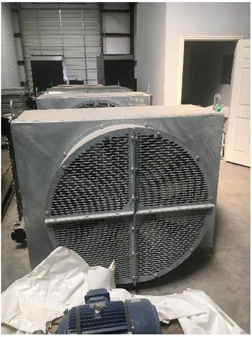 Reciprocating Compressor Package Components 450 HP Ariel JGE-2 Toshiba-Cooler_fan