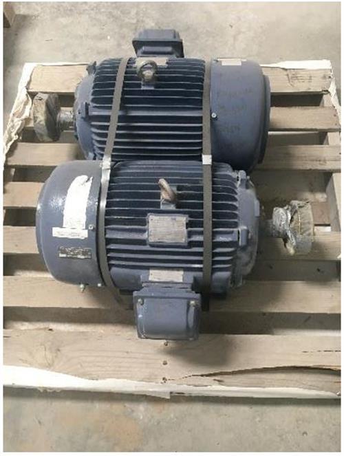 Reciprocating Compressor Package Components 450 HP Ariel JGE-2 Toshiba-mot