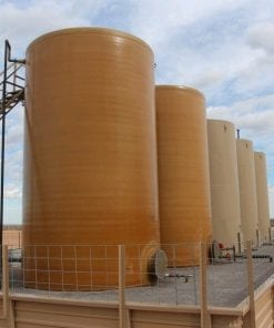 1000 bbl fiberglass production tank