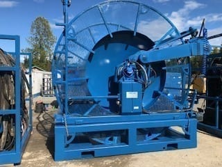 NOV Hydra Rig 3 Piece Offshore Coiled Tubing Unit on Skid