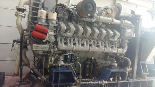 MTU 16V 4000 Marine Generator